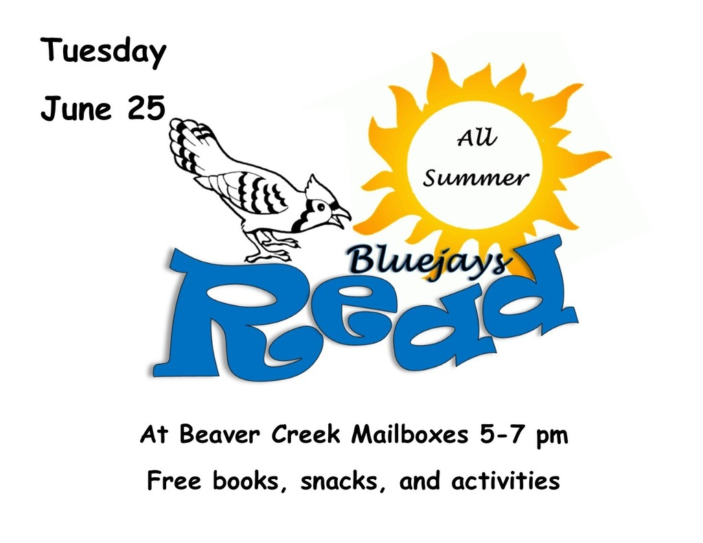 Blue Jays Read June 25th: Free Books, Snacks and Activities
