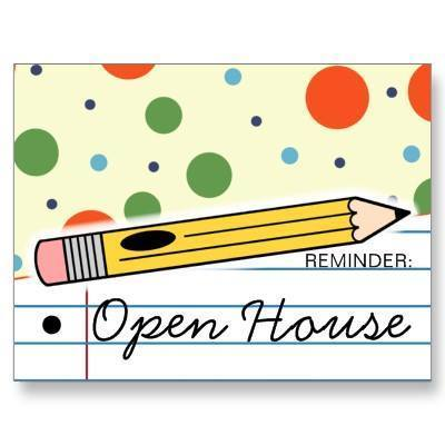 Reminder: Open House
