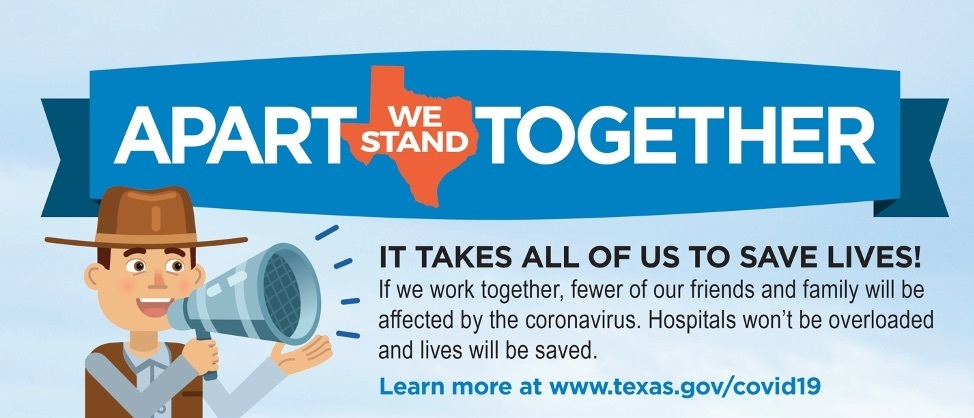 The Snook ISD community must work together to fight COVID-19.  Head to http://tea.texas.gov/staywell for vitally important public health guidance to stop the spread. If we stand apart as a community now, we will be together again soon.