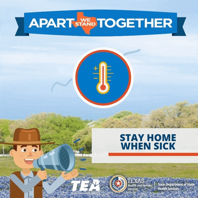 Before social distancing, each person with #COVID19 spread the virus to 2.5 more people. At that pace, most would get it, and many more people would die. But we can slow the spread.  That's why we all #StayHome.  #ApartTogether we slow coronavirus.